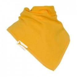 Bavoir bandana Funky Giraffe - Uni jaune