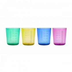 4 BABYCUP multicolore