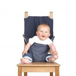 Chaise de voyage de bébé Totseat gris/bleu