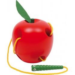 Pomme à enfiler
