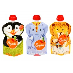 Squiz animaux pack de 3 - 130 ml