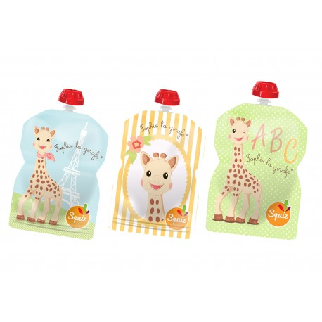 Squiz Sophie la Girafe pack de 3 - 90ml