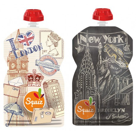 Squiz Londres-New-York pack de 2 - 130 ml