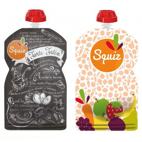 Squiz fruits couleurs pack de 2 - 130 ml