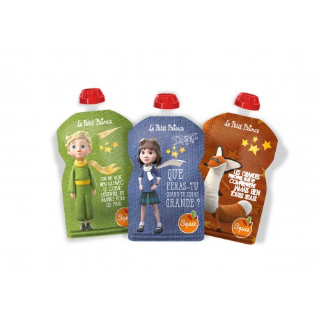 Squiz Le Petit Prince Imagination pack de 3 - 130 ml