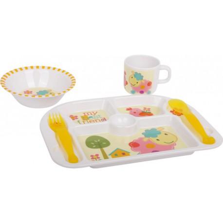 """Vaisselle pour enfants """"Meilleurs amis"""""""