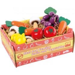 Cageot de légumes