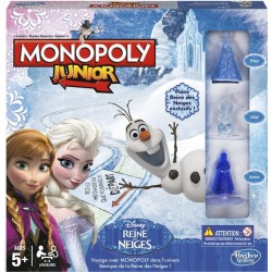"Monopoly junior ""La Reine des Neiges"""