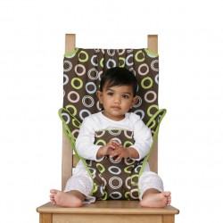 """Chaise de voyage de bébé Totseat """"Chocolat"""""""