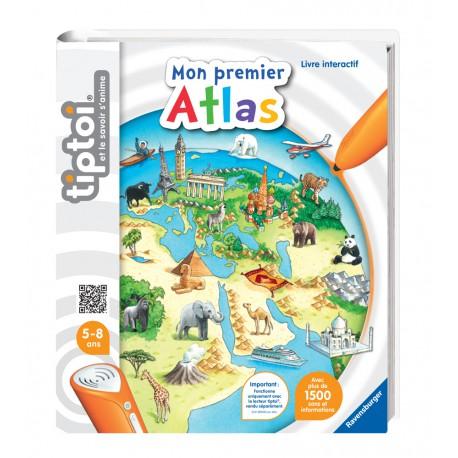 Tiptoi Livre Interactif Atlas Voyage Jeu Enfant Sons
