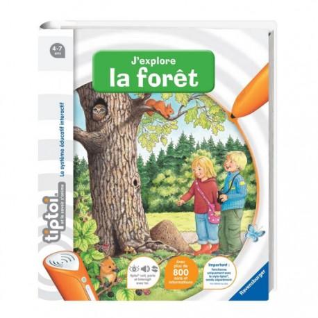 "Livre interactif ""J'explore la forêt"" tiptoi"