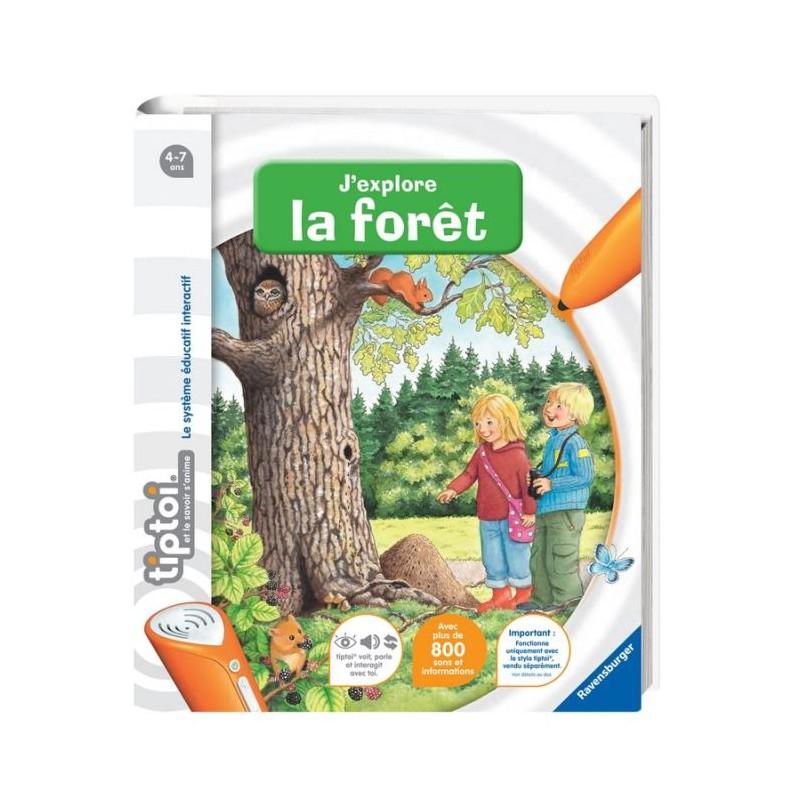 Tiptoi Ravensburger Foret Interactif Enfant Livre