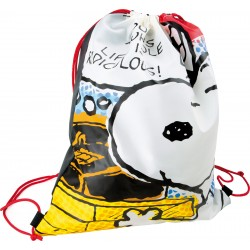 Sac de gym Snoopy