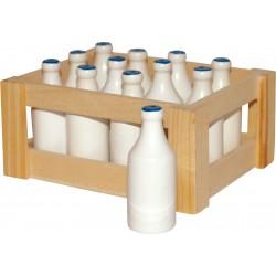 Bouteilles de lait