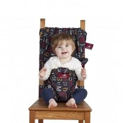 """Chaise de voyage de bébé Totseat """"Alphabet"""""""